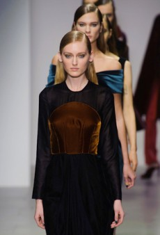 Emilio de la Morena Focuses on the Party Dress for Fall 2014 (Runway Review)