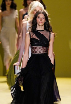 J. Mendel Masters Fur and Eveningwear for Fall 2014 (Runway Review)