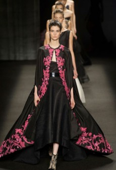 Monique Lhuillier Offers Up Modern Romance for Fall 2014 (Runway Review)