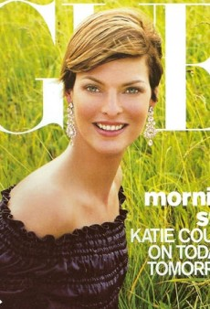 Flashback: Linda Evangelista's Stunning Return on US Vogue's September 2001 Issue