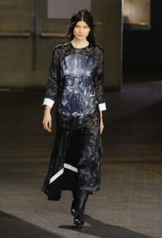 Preen Takes Us to the Dark Side for Fall 2014 (Runway Review)