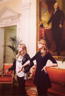 Taylor Swift is Now Friends with Cara Delevingne and Other Celeb Twitpics of the Week