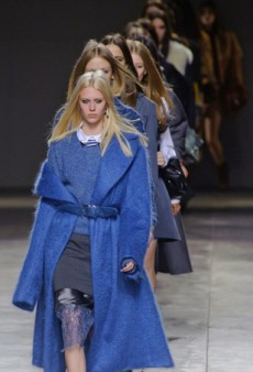 Topshop Unique Dresses Disheveled Good Girls for Fall 2014 (Runway Review)