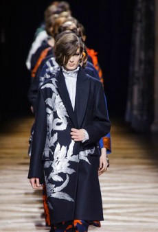 Dries Van Noten Goes with Bold Florals and Graphic Patterns (Runway Review)