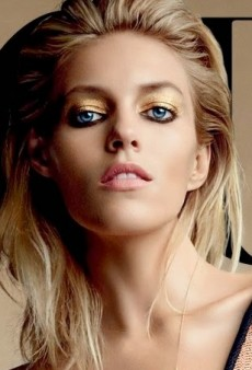 Anja Rubik's Latest Cover of Vogue Russia: Tasteful or Tasteless?