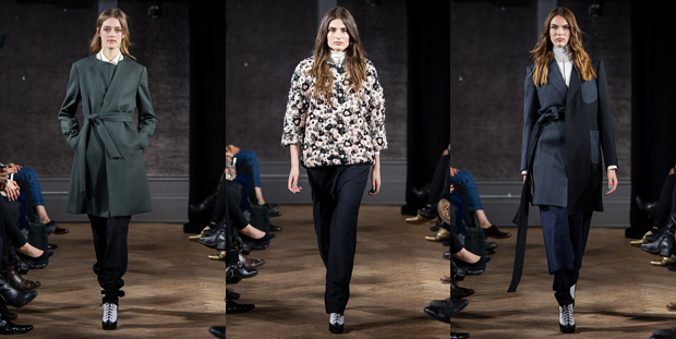 3 Trouser Outfits from Antonio Azzuolo's Fall 2014 Show in Toronto