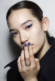 Beauty Report: Blue Velvet at Kenzo