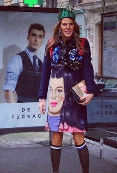 Anna Dello Russo Apparently Rides the Bus, While Another Editor Takes Some Time to Reflect — and More Fashion Tweets from #PFW