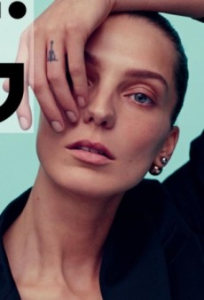 Karim Sadli Shoots i-D Magazine's Spring 2014 Cover with Daria Werbowy (Forum Buzz)