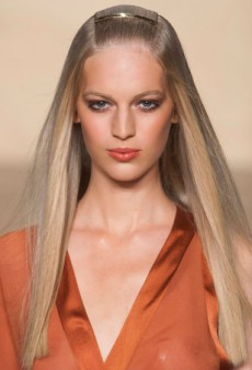 Dust Off Your Flat Iron, Pin-Straight Hair is In for Spring