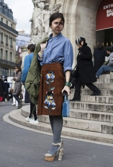 Paris Fashion Week Street Style: Statement-Makers