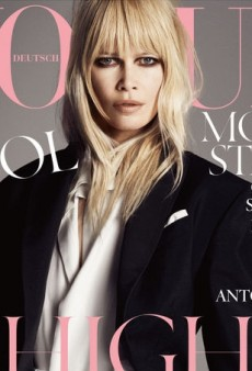 Claudia Schiffer is Looking Better Than Ever on the Cover of Vogue Germany's April Issue (Forum Buzz)