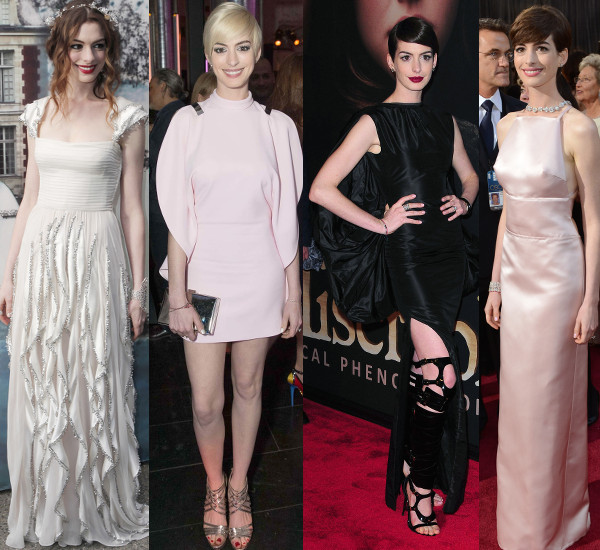 Anne Hathaway\'s Red Carpet Style Post-Rachel Zoe - theFashionSpot