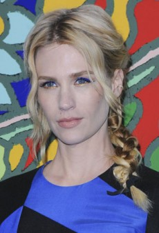 Get January Jones' Coachella-Ready Braid At Home