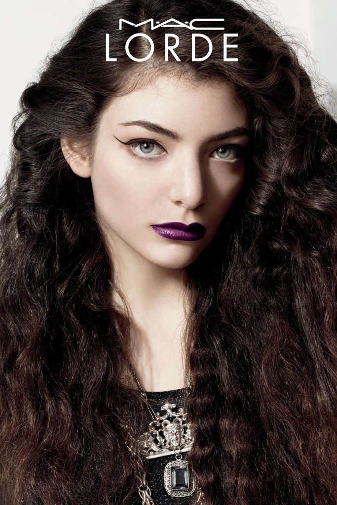 Lorde's M.A.C. Cosmetics Campaign