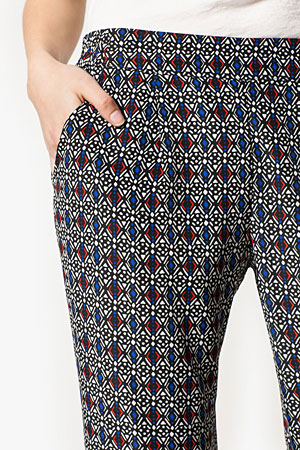 Stradivarius printed pants