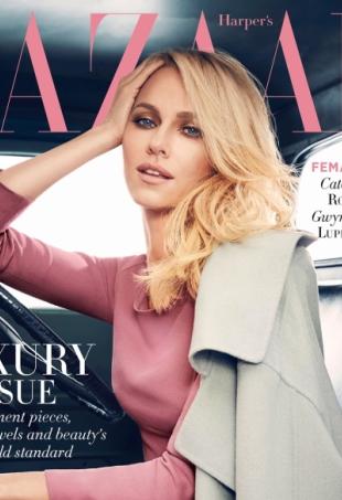Harper's Bazaar Australia May 2014 Noami Watts