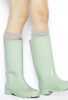Skip Through April Showers with These Fashionable Rain Boots
