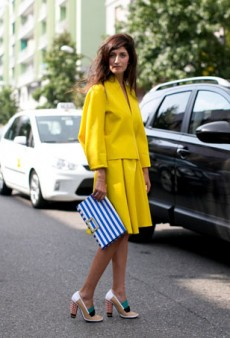 Spotted: Brilliant Color Combinations to Inspire Your Spring Look