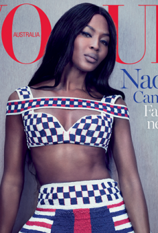 Naomi Campbell Scores Vogue Australia's Limited-Edition Cover for May (Forum Buzz)