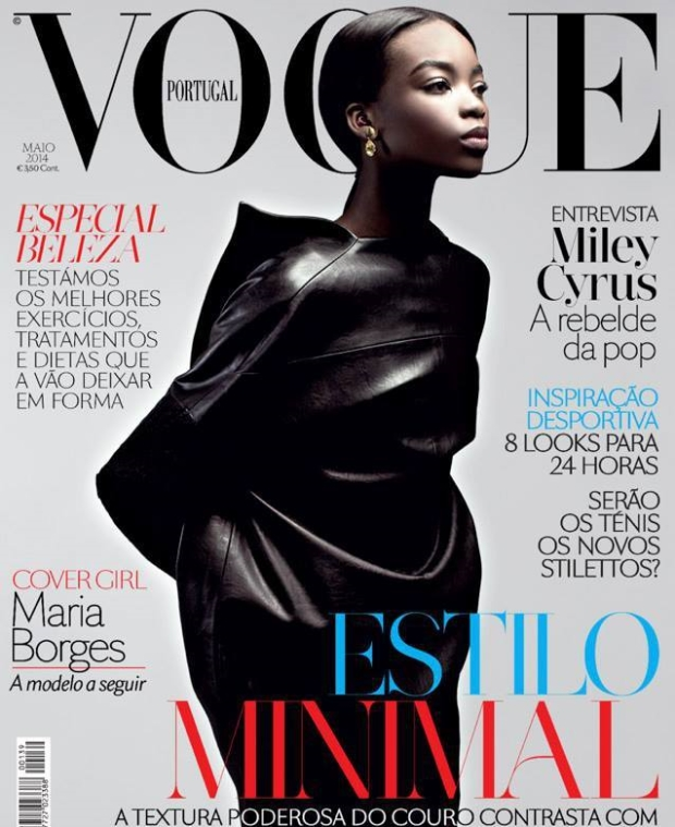 Vogue Portugal May 2014 cover Maria Borges