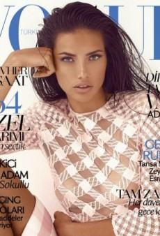 Just In: Adriana Lima Scores Second Vogue Cover This Month (Forum Buzz)