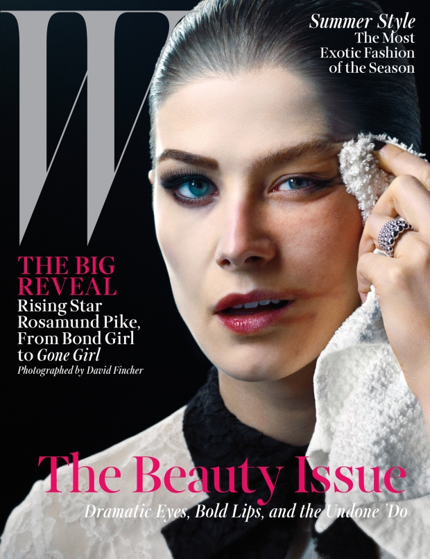 W Magazine May 2014 Rosamund Pike