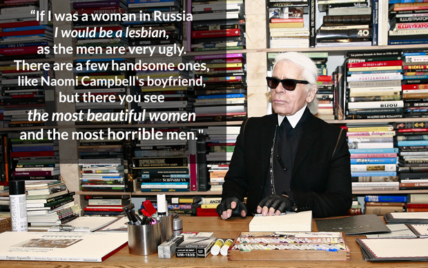 The 8 Bitchiest Things Karl Lagerfeld Has Ever Said