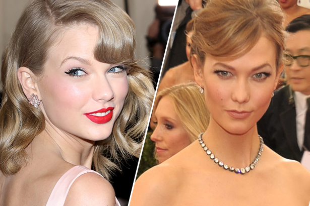 taylor swift karlie kloss friends met ball