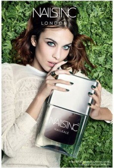 Alexa Chung is the New Face of Nails Inc.