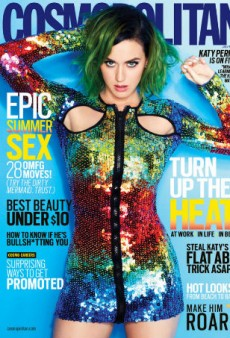 Katy Perry Covers Cosmopolitan's July 2014 Global Issue