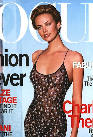 flashback-us-vogue-october-2000-charlize-theron-portrait
