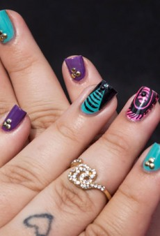Nail Art How-To: Modnails Gets Inspired by Colorful Urban City Art