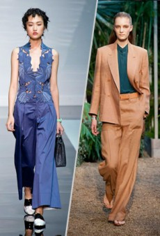 Move Over Skinnies: Why We're Embracing the Wide-Leg Pant This Season
