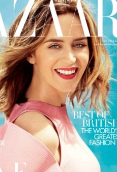 Emily Blunt Doesn't Look Like Herself on the UK Harper's Bazaar July Cover (Forum Buzz)