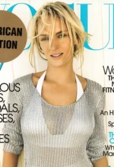 Flashback: Vogue June 2006 with Uma Thurman by Mario Testino