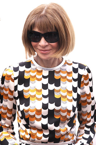 anna wintour at the Opening night of The Cripple of Inishmaan at the Cort Theatre