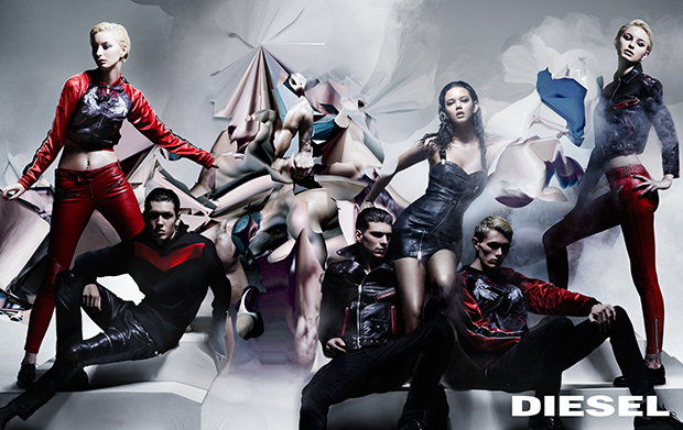 Nick Knight for Diesel Nicola Formichetti