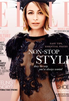 Nicole Richie is ELLE Australia's July Cover Girl