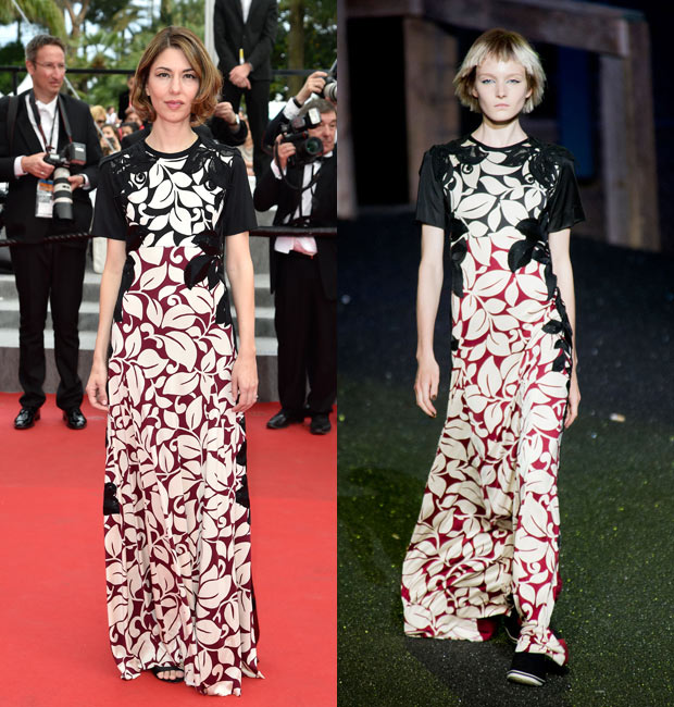 Sofia Coppola in Marc Jacobs Spring 2014