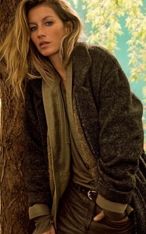 Ad Campaign Isabel Marant Fall 2014 Gisele Bundchen