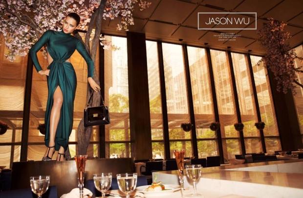 Ad Campaign Jason Wu Fall 2014 Adriana Lima Inez & Vinoodh