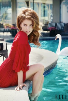 Anna Kendrick Covers Elle's First Social Media Issue, Talks About How Hot She Is