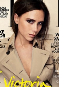 Victoria Beckham Makes the Cover of Elle Singapore (Forum Buzz)