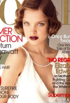 Flashback: US Vogue July 2007 with Natalia Vodianova by Mario Testino