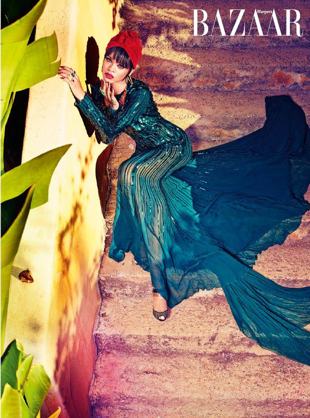 Image: Harper's Bazaar Arabia