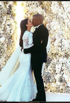 Why Did It Take Kim and Kanye Four Days to Produce This Wedding Photo?