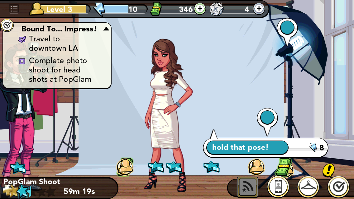 Kim Kardashian Game screenshot