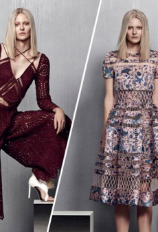 A Dreamy Holiday Aesthetic for Zimmermann Resort 2015