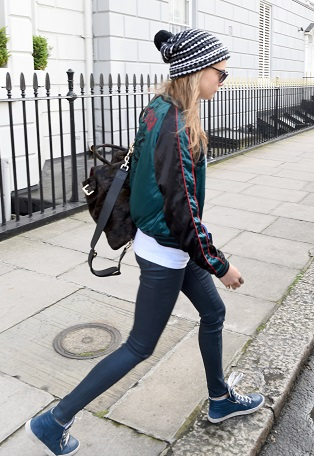 Cara Delevingne Leaves Home